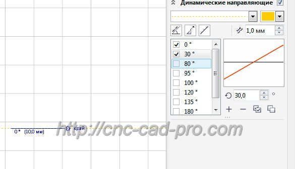 Использование привязок при черчении и построении сложных векторов для станков с ЧПУ в CorelDRAW X7. - Уроки CorelDRAW - Каталог